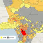 50 Most Dangerous Areas in Los Angeles for Violent Crime